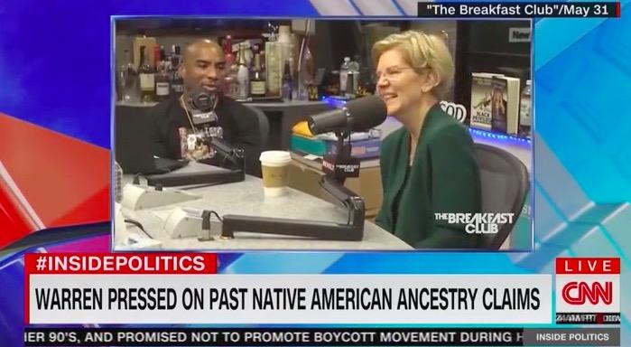 CNN Panel Questions the Wisdom Elizabeth Warren Releasing Native American Policy Proposals: 'Why Poke the Bear?'