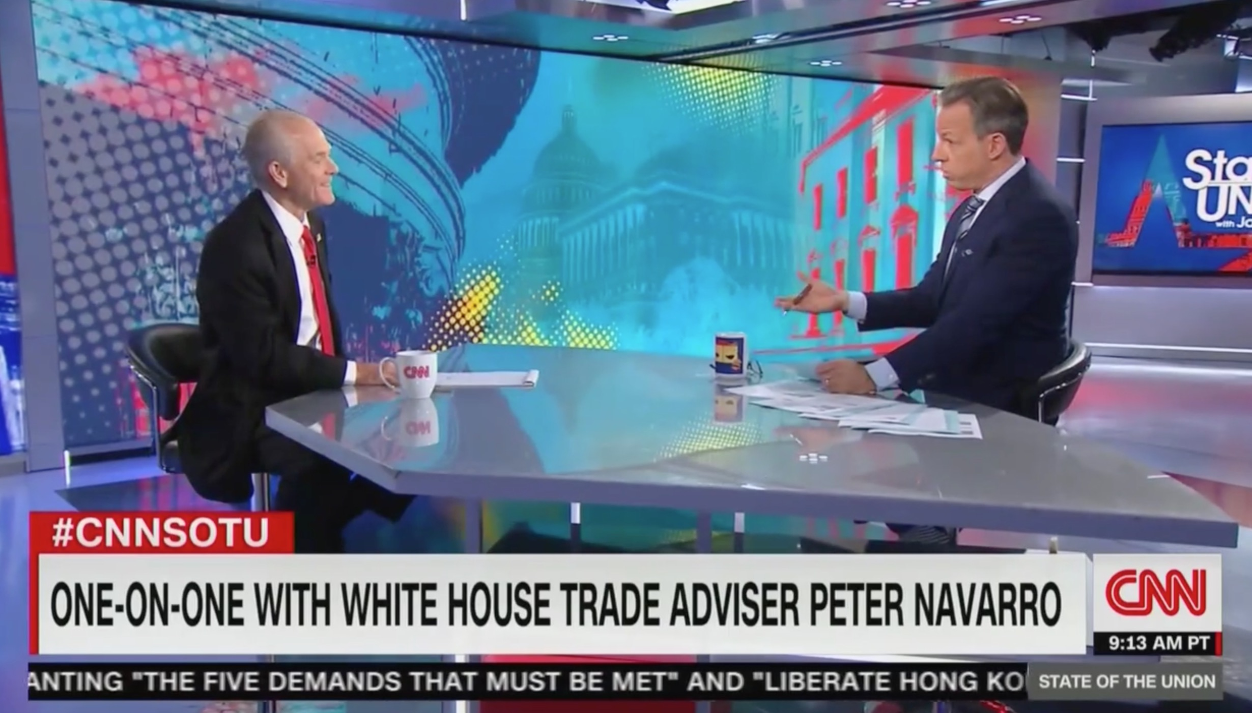 Jake Tapper Presses Navarro on the Impact of Tariffs: 'Economist After Economist' Saying You're Wrong