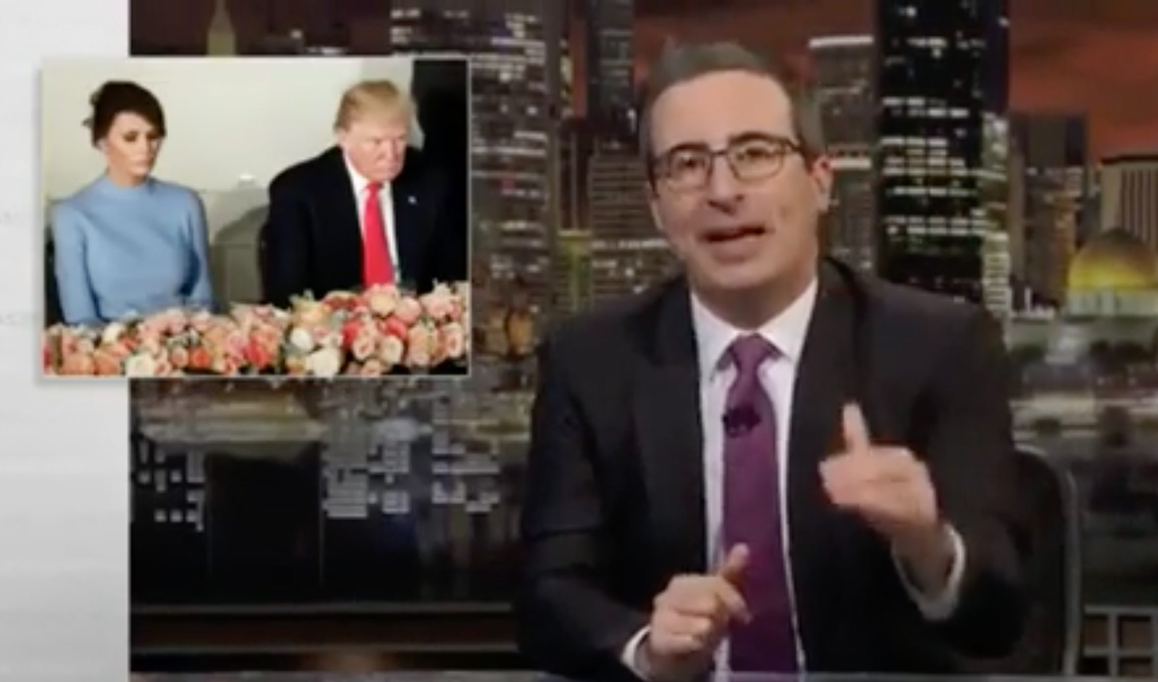 John Oliver Hits First Lady in Rant on Trump and Greenland: 'Greenland is Icy, Distant, and Semi-Autonomous' … Like Melania