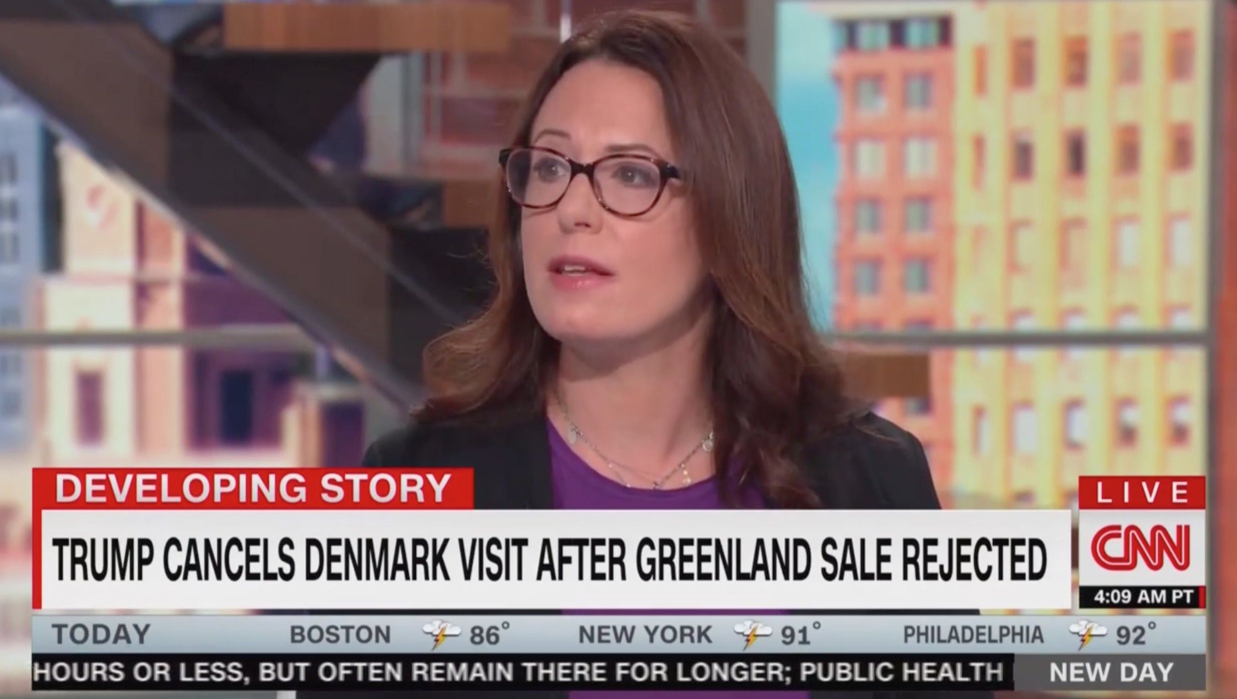 Maggie Haberman: Trump Was 'Hugely Disrespectful' to Denmark, But Didn't Cancel Trip Over Greenland