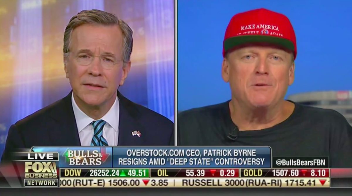 Ex-Overstock CEO Breaks Down in Tears, Berates Panelist in Wild Fox Business Interview: 'You're a Fool!'