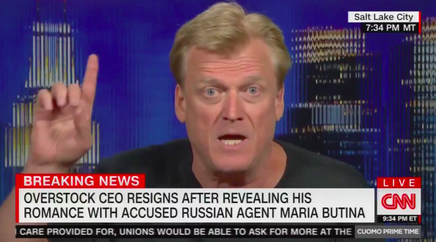 Who is Patrick Byrne? 4 Craziest Moments From His Wild Cable News Bonanza Against the 'Deep State'