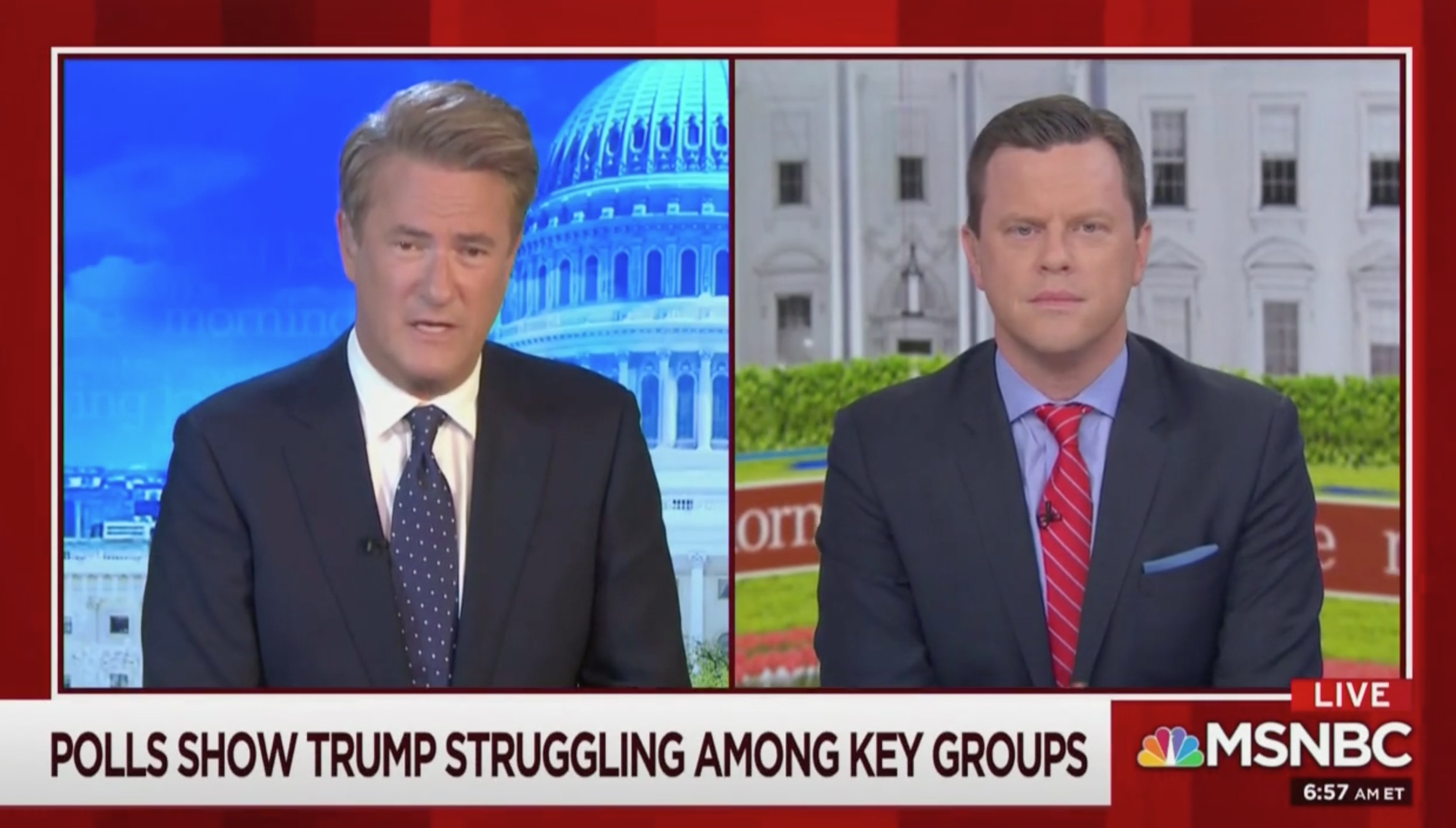 Joe Scarborough Mocks Trump's Exaggerating GOP Approval Rating Minutes After Morning Joe Segment