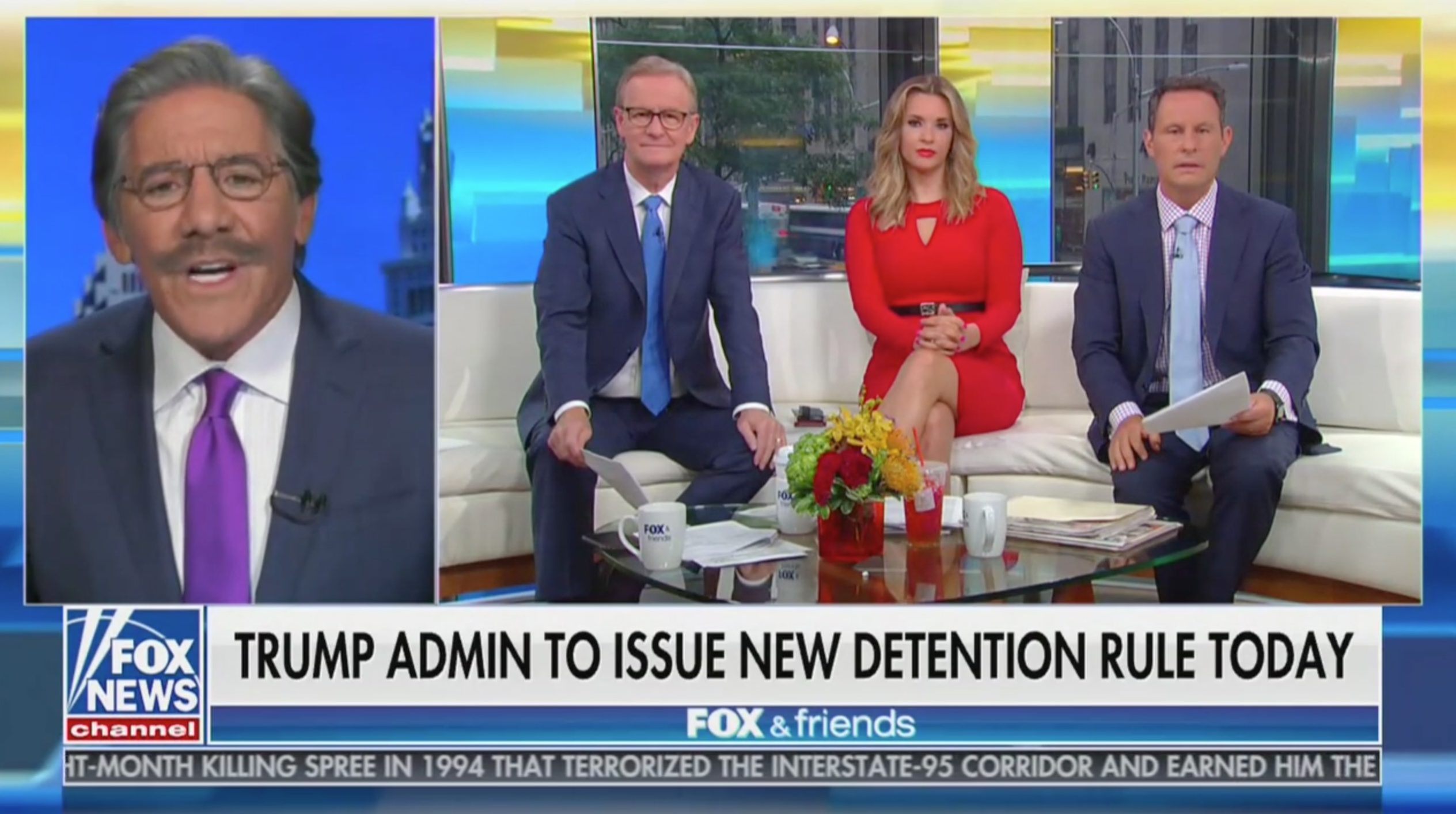 Geraldo Slugs it Out With Brian Kilmeade on Immigration: Trump Administration Can't Be 'The Administration of Child Abuse'