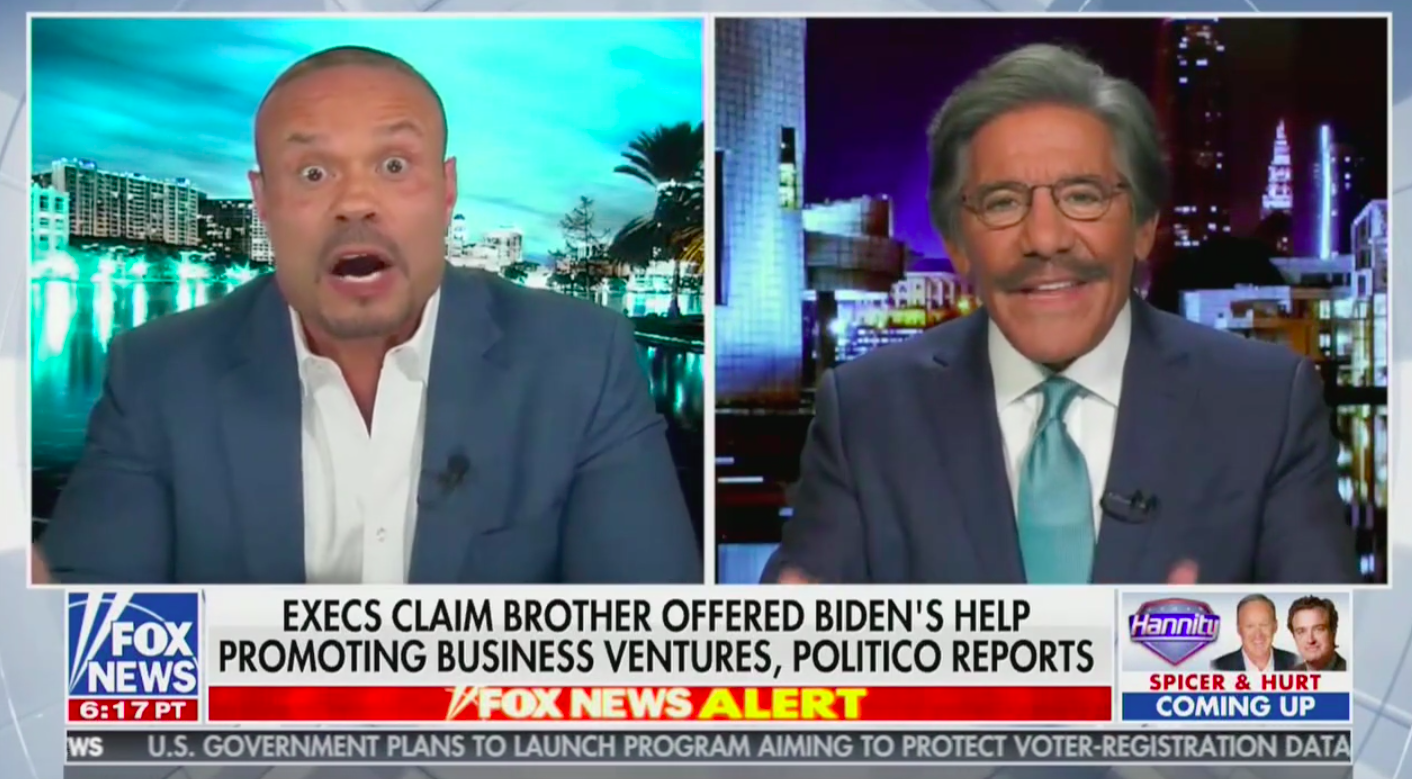 Hannity and Dan Bongino Blow Up at Geraldo Rivera for Defending Biden: 'Get Lost, This is Ridiculous!'