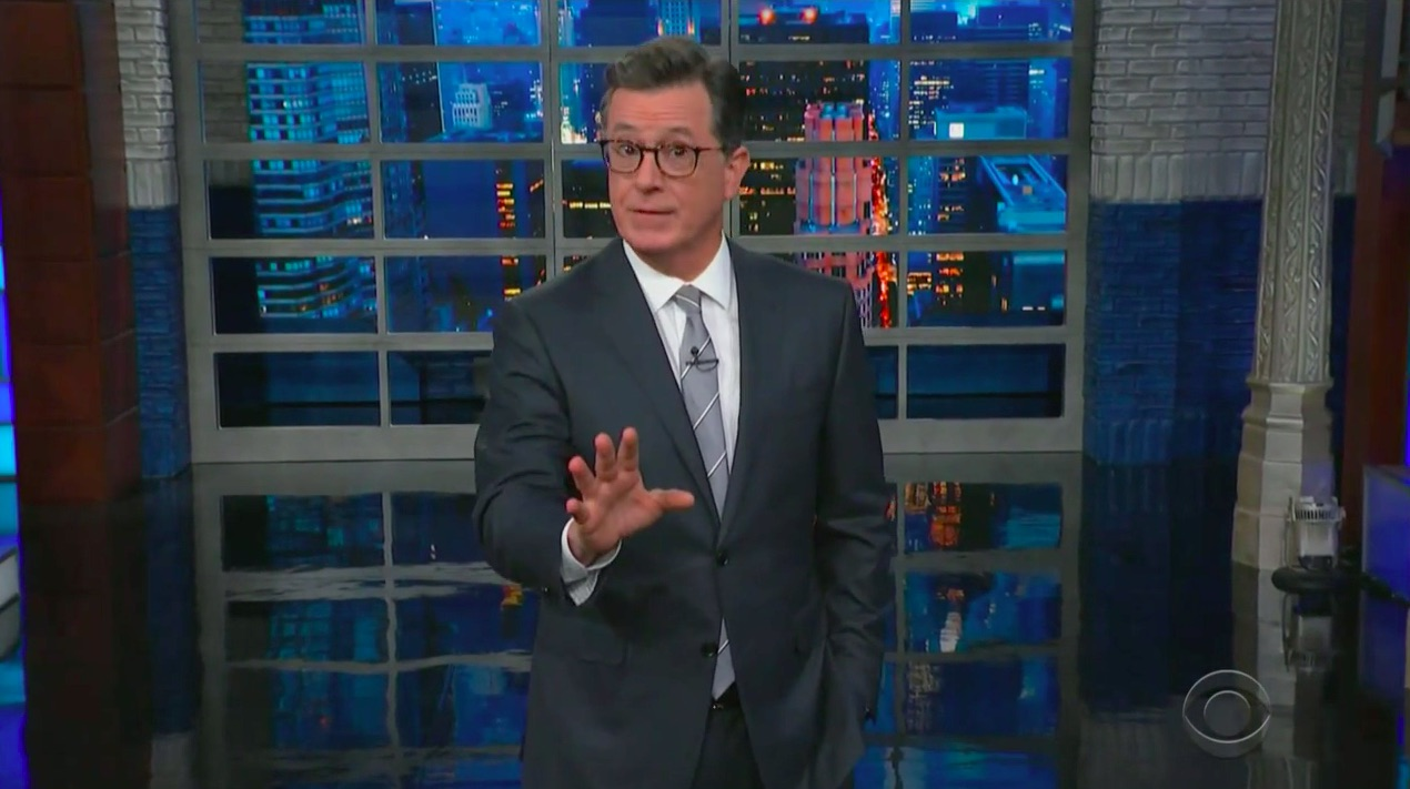 Stephen Colbert Slams Mitch McConnell for Huge NRA Donations: 'You Can't Put a Price on Human Life, But It Doesn't Stop Mitch From Trying'