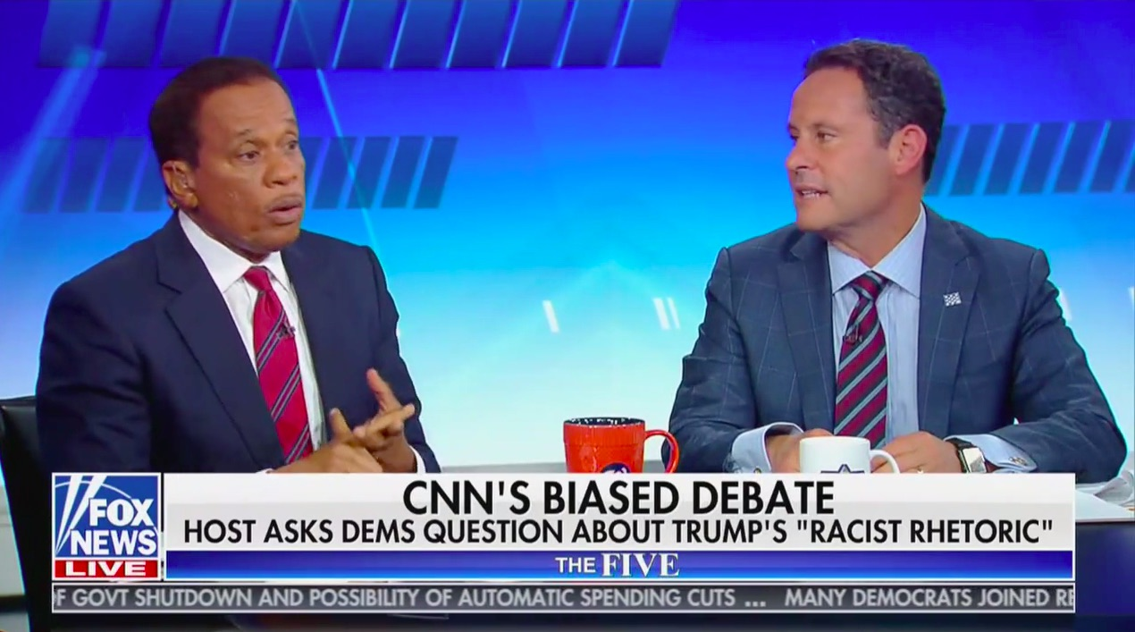 The Five Shouts Down Juan Williams For Saying 'It's a Fact' That Trump is Racist: 'THAT'S AN OPINION!'
