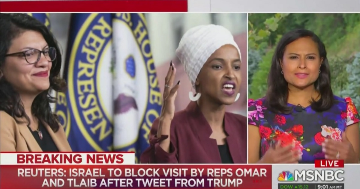 NBC's Kristen Welker Fact-Checks Trump Smear of Omar and Tlaib: 'Neither Has Said They Hate Israel or the Israeli People'