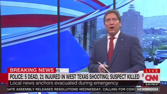 Local News Station Evacuated While Broadcasting