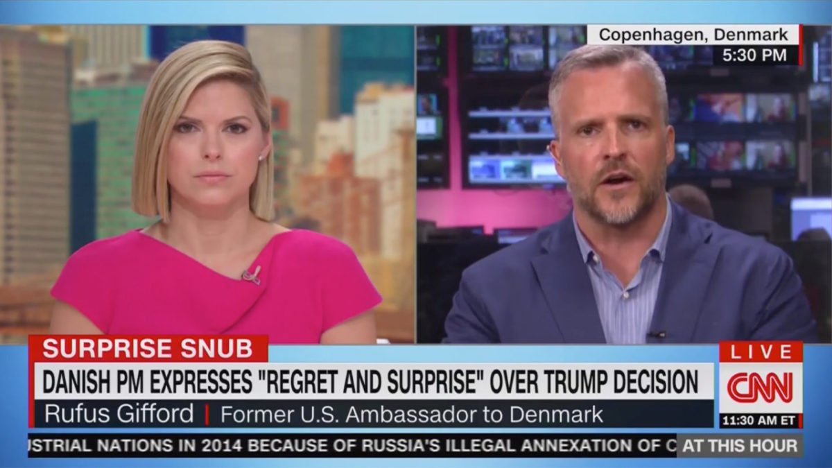 Fmr US Ambassador to Denmark Goes Off on Trump: This 'Chaotic' Approach Feels 'Un-American to Me'