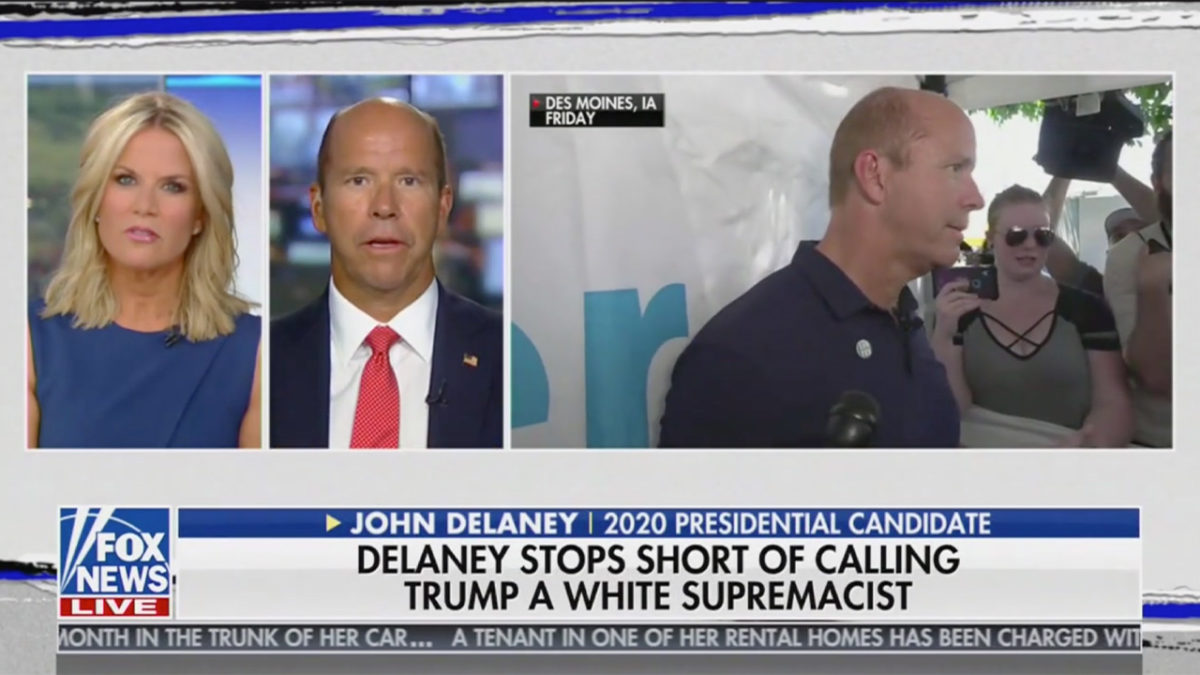 John Delaney Responds on Fox After Lara Trump Rips His Comments Saying Trump 'Supports White Supremacy'