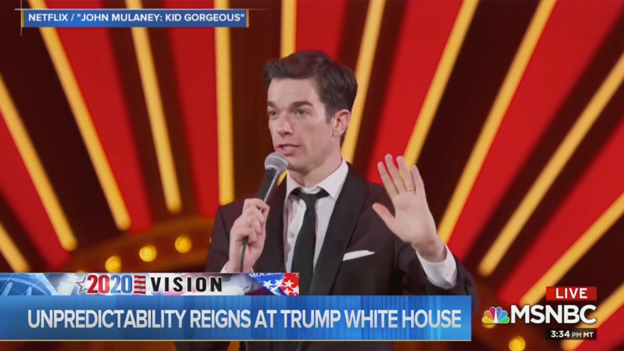 Chuck Todd Tackles Trump Chaos With Some John Mulaney Stand-Up: Dems Want 'The Horse Out of the Hospital'