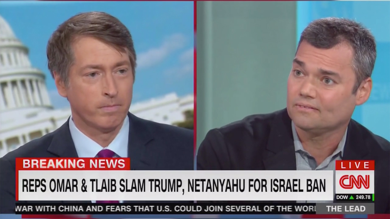 CNN Panel Clashes Over Org Sponsoring Omar, Tlaib Israel Trip: Would You Give Leeway to a White Nationalist Group?