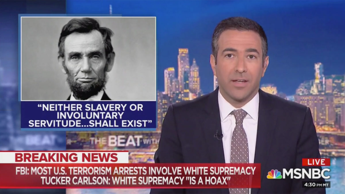 Ari Melber Tees Off on Tucker Carlson: He's Just 'Denying the Facts and Shouting HOAX'