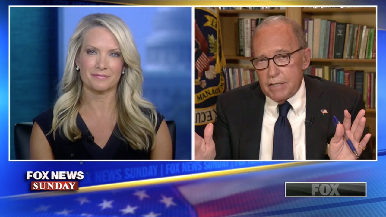 Kudlow on Greenland: Trump 'Knows a Thing or Two About Buying Real Estate' and Wants to Take a Look