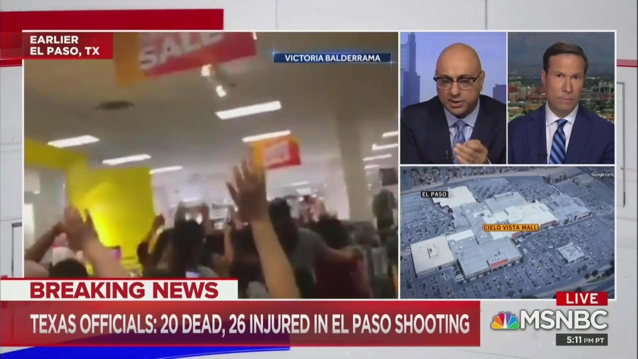 MSNBC Anchor: In U.S. You Are More Likely to Be Victim of White Nationalist Terror Than Islamic Terror