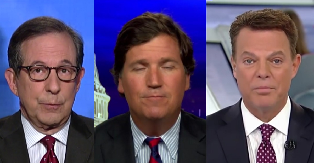 An Open Letter to Chris Wallace and Shepard Smith: Quit Tucker Carlson's Fox News Now