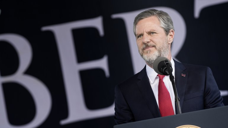 Trump Booster Jerry Falwell Jr. Called Student 'Physically Retarded' in Newly Revealed Emails