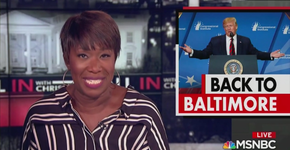 Trump Lashes Out at Joy Reid After She Calls Him 'Desperate' and Mocks His 'Smoking Hot Beauty Tips'