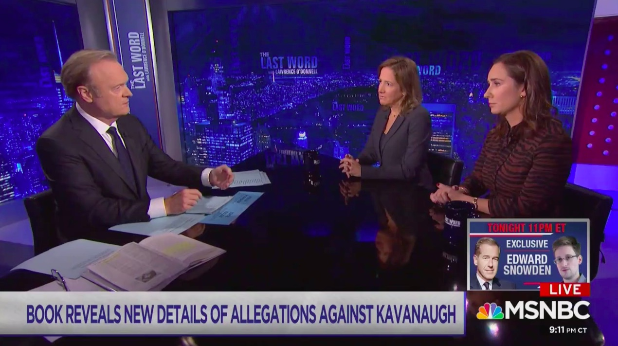 Kavanaugh Book Co-Authors Say NYT Editors Cut Key Detail About Alleged Victim Not Remembering the Assault