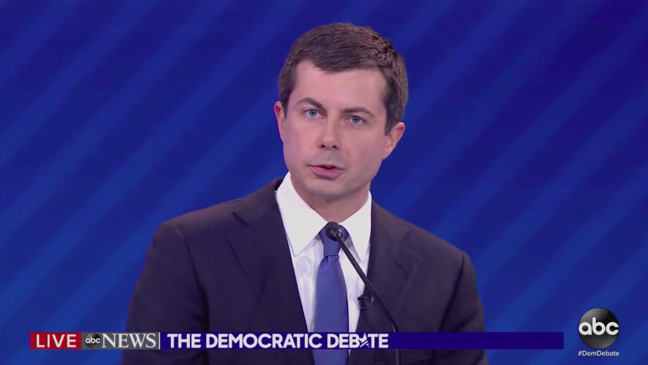 Watch Pete Buttigieg Give Moving Debate Answer on Coming Out as Gay: Would 'Just Acknowledging Who I Was' End My Career?