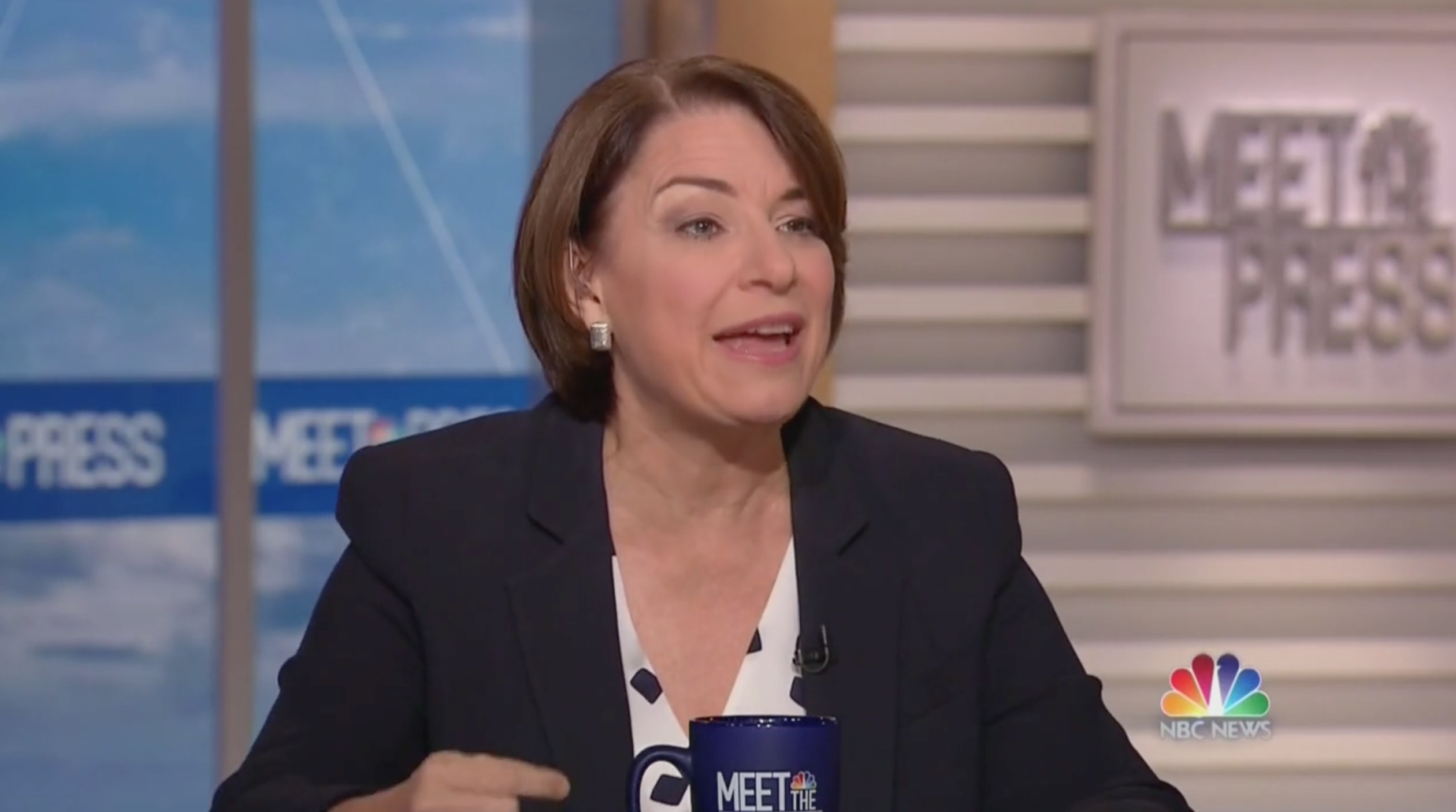 Amy Klobuchar Slams Trump's Proposed Taliban Meeting: You Don't Treat Negotiating With Terrorists Like a 'Game Show'