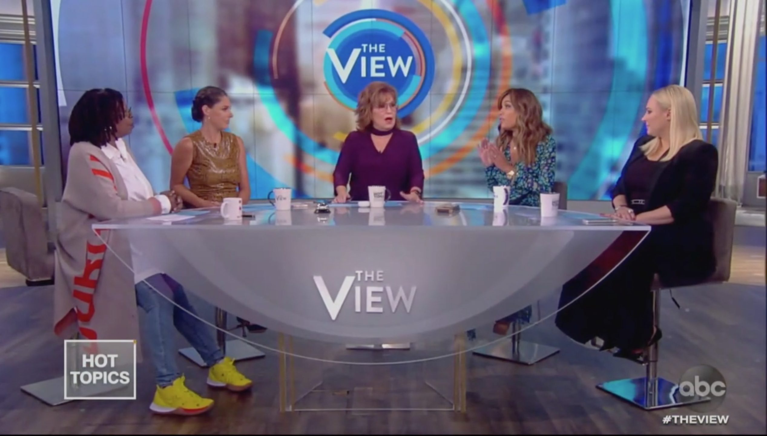 The View Thrashes Trump for Smearing Hurricane Victims: The Race Card 'Can't Get Any Bigger Than This'