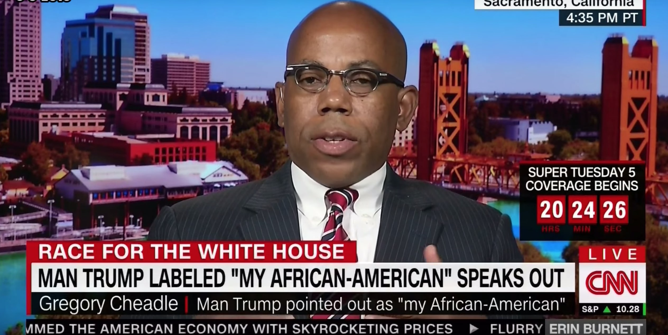 Man Trump Called 'My African-American' Quits GOP, Launches House Bid: Trump Has a 'White Superiority Complex'
