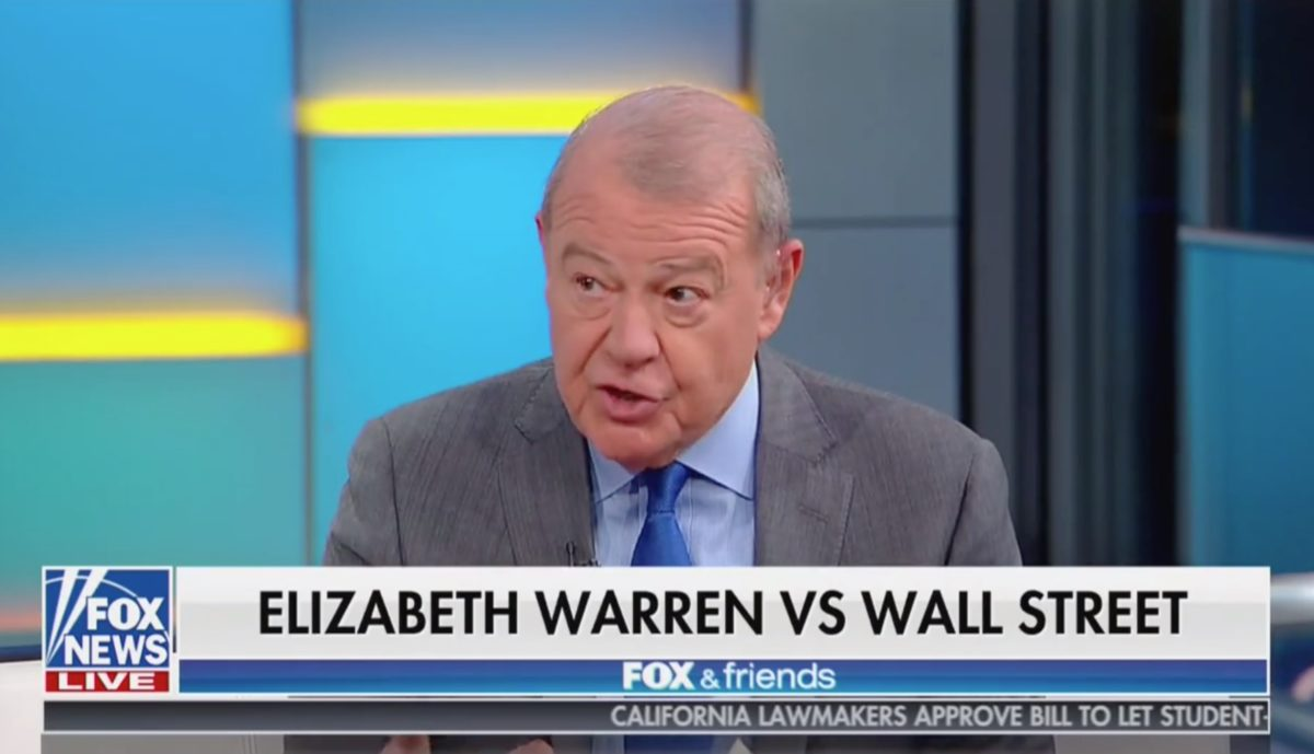 Fox's Varney Warns President Elizabeth Warren Would Force Corporate Profits to Go to Workers and Customers