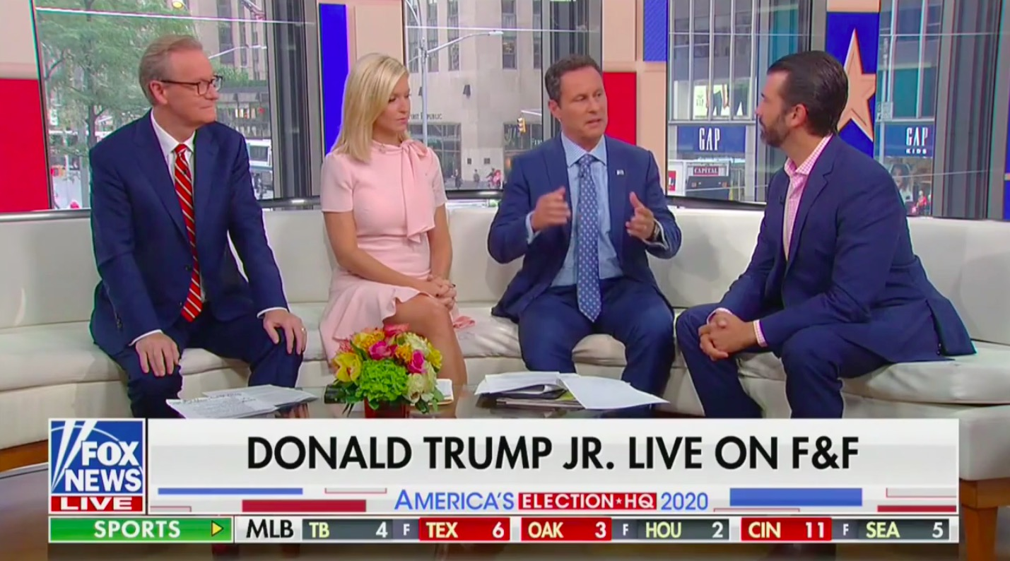 Fox & Friends Presses Don Jr. on Turnberry: Is Your Family Profiting Off of Trump Presidency?
