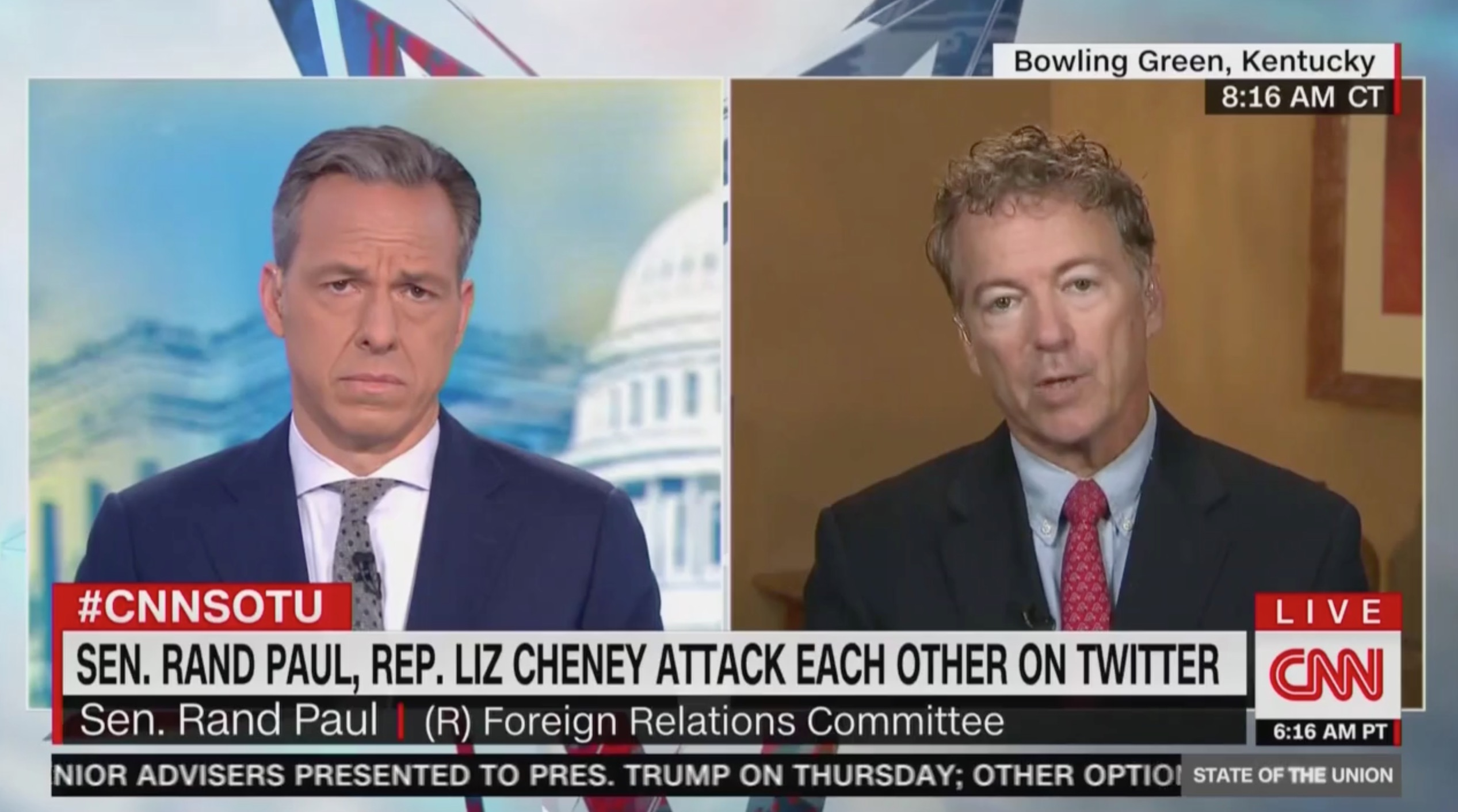 Rand Paul Trashes Liz Cheney After Twitter Spat: She and Bolton 'Don't Get It'