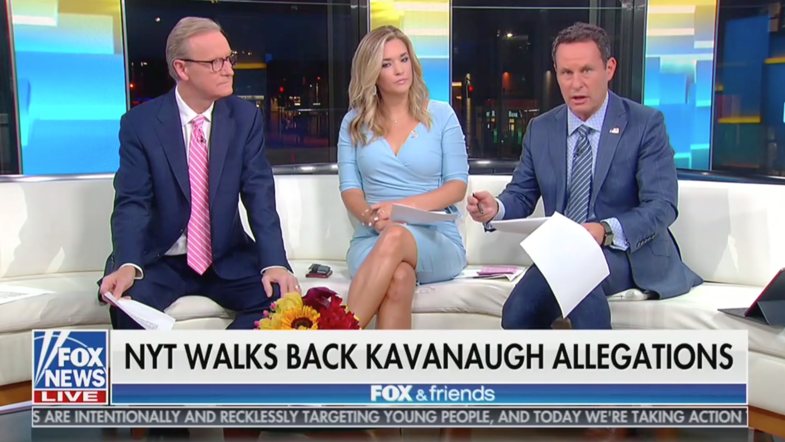 Fox & Friends Rip New York Times Over Kavanaugh Walk Back: 'Facts Don't Add Up'