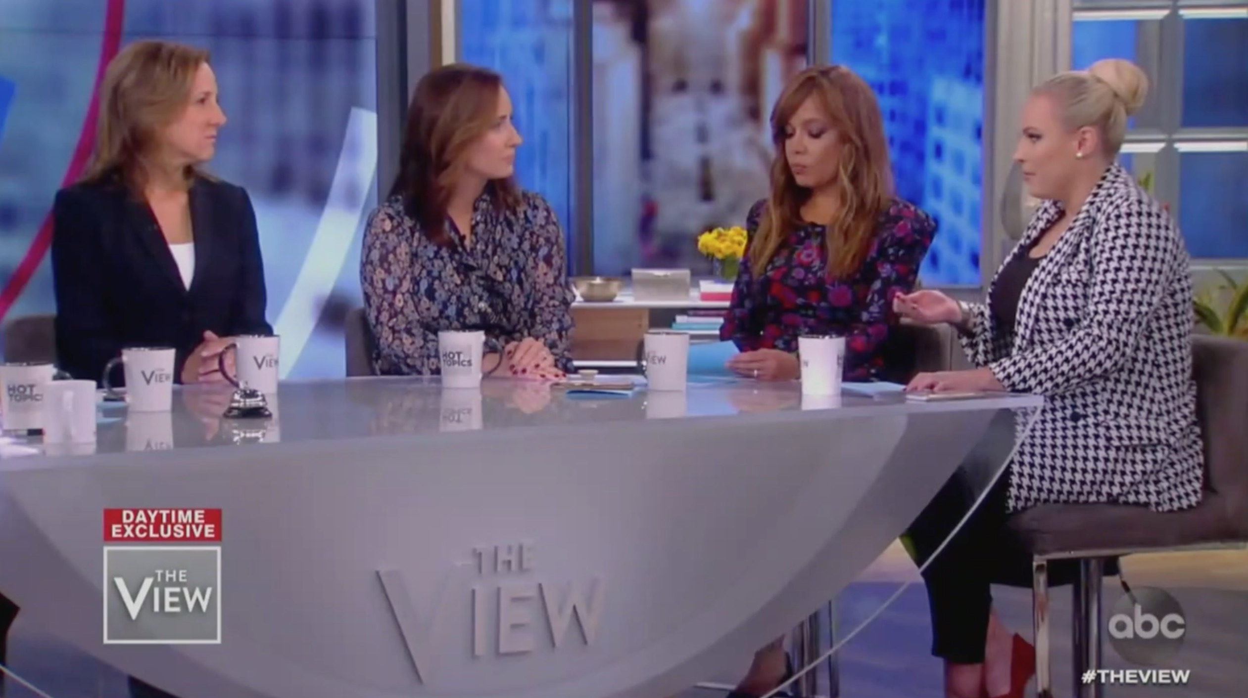 Meghan McCain Confronts Authors of New Kavanaugh Book in Tense Interview: 'People Think This is a Hatchet Job'