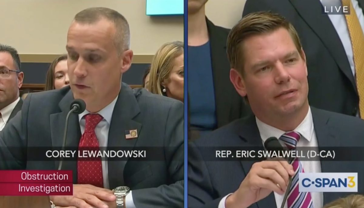 Confederacy of Dunces: Watch Swalwell and Lewandowski Somehow Turn House Judiciary Hearing Into Bigger Mockery
