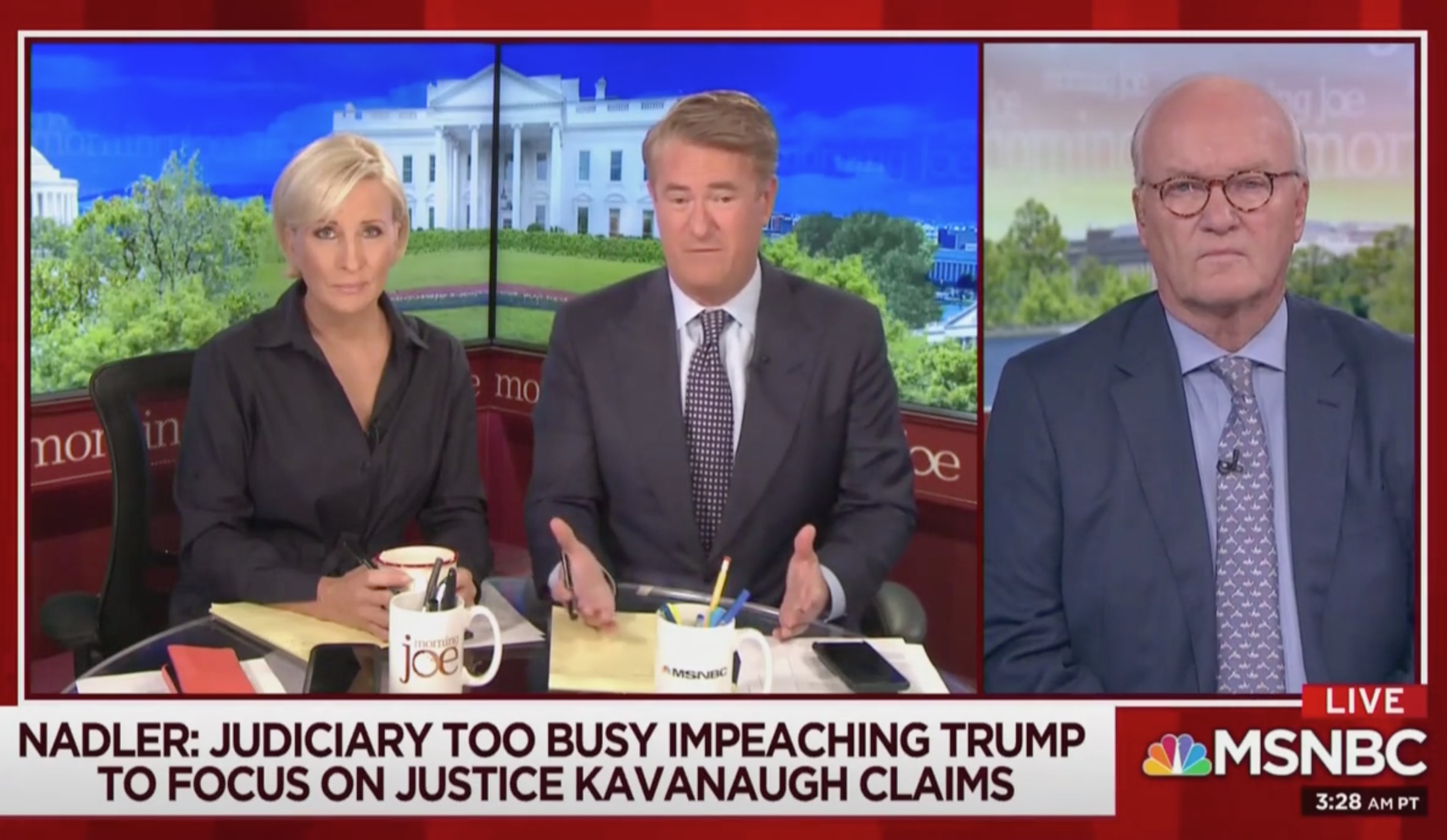 Scarborough Blasts Kamala Harris for Believing 'Botched' and 'Baffling' NY Times Kavanaugh Essay