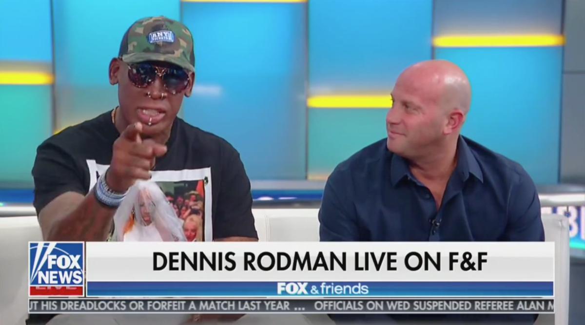 Dennis Rodman Talks Trump and North Korea on Fox: 'Kim Jong Un Will be in America in 18 to 24 Months'