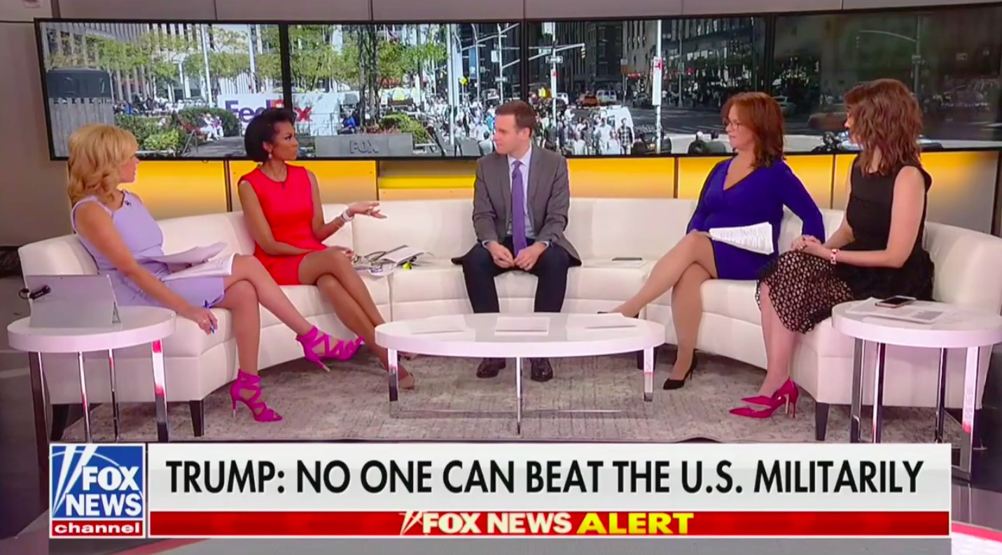 Fox News Host Shocked By Trump's Threat to Release ISIS Fighters Into the Streets: 'Am I Taking Hallucinogenic Drugs!?'