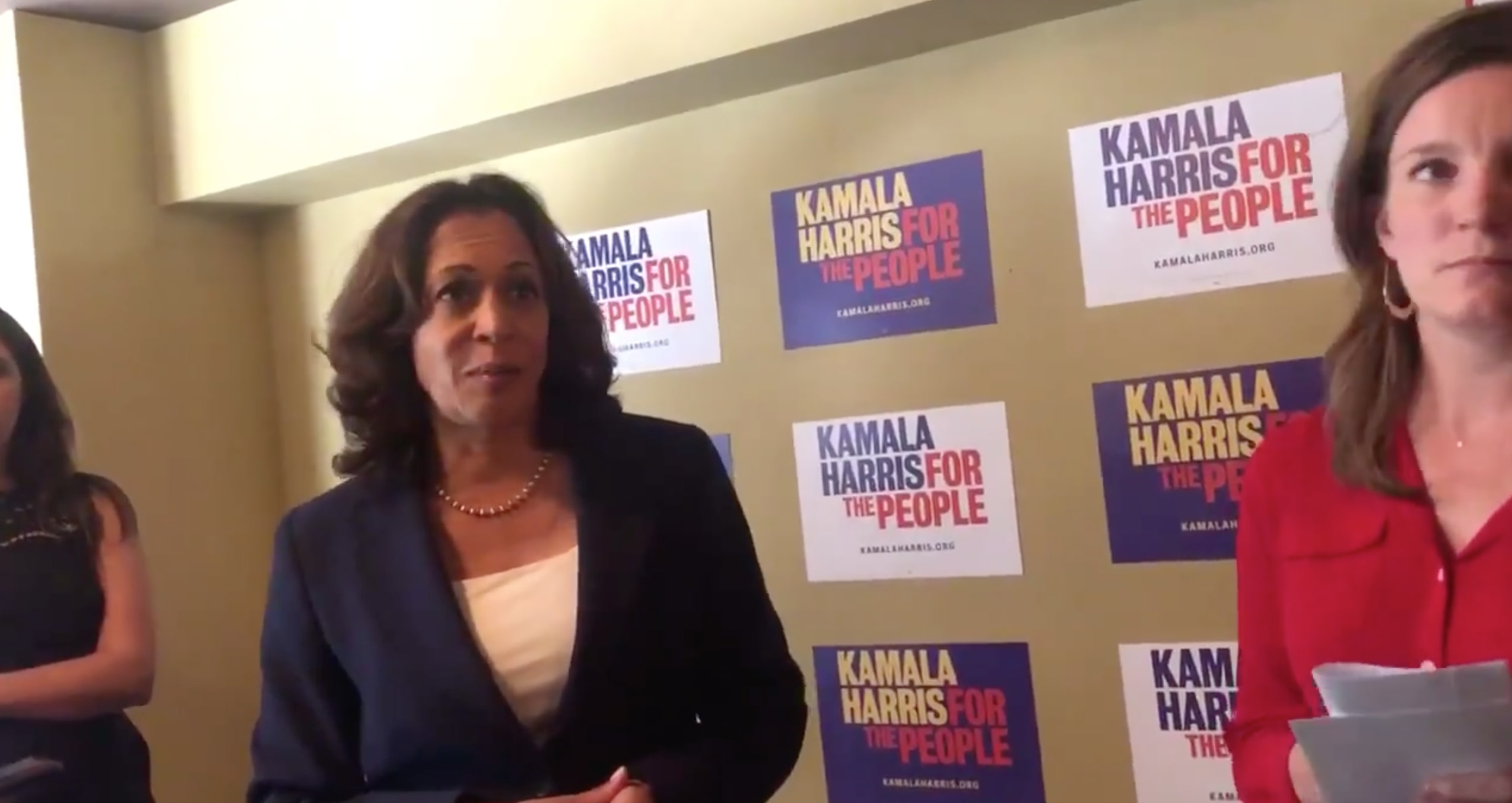 Kamala Harris Tells Whistleblower to Go Directly to Congress: 'The American People Will Stand With You'
