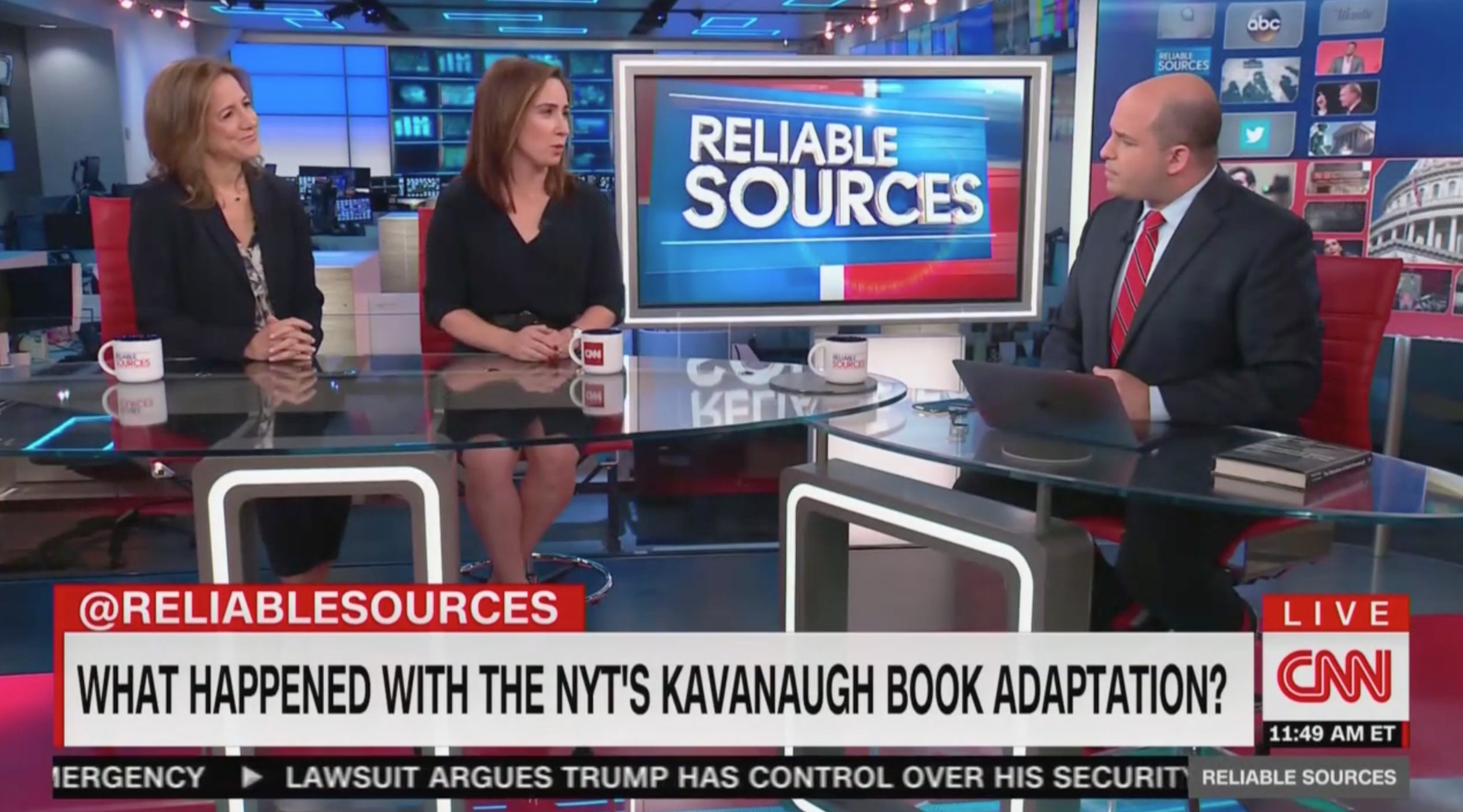 CNN's Stelter Questions NYT Reporters on Kavanaugh Book: 'What Went Wrong' With the Adaptation?