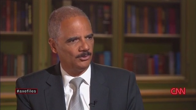Former AG Eric Holder: If Trump Went on Trial After Leaving Office, 'There Would Be a Potential Cost to the Nation'
