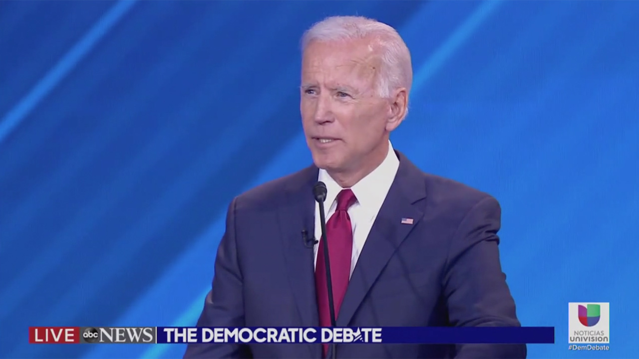 DACA Protesters Interrupt Biden During Debate: 'Our Lives Are at Risk!'