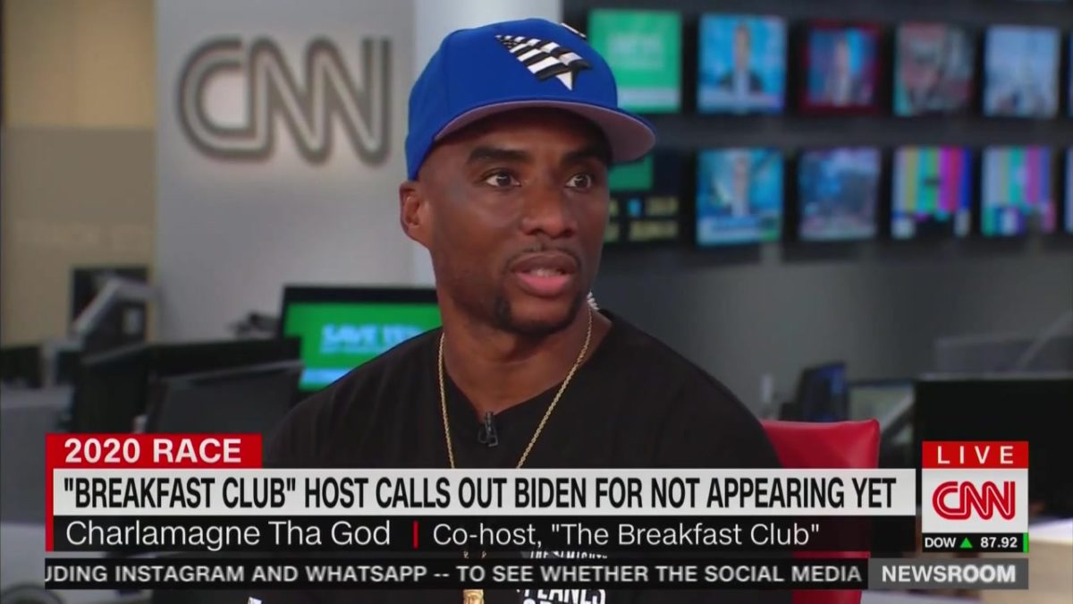 Charlamagne Tha God Calls Out Joe Biden for Ducking His Show: 'White Entitlement and Privilege and Ego'