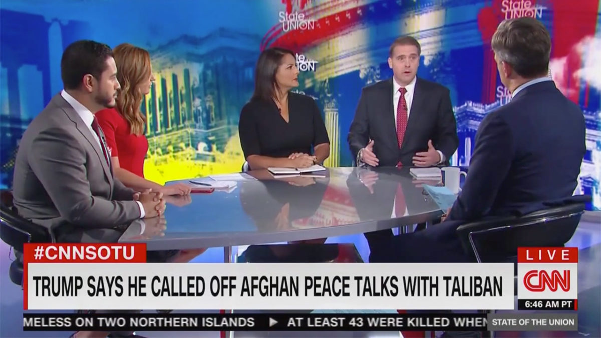 CNN Panel Flips Out Over Trump Initially Inviting Taliban to Camp David: Bringing Them Here 'Makes My Blood Boil'