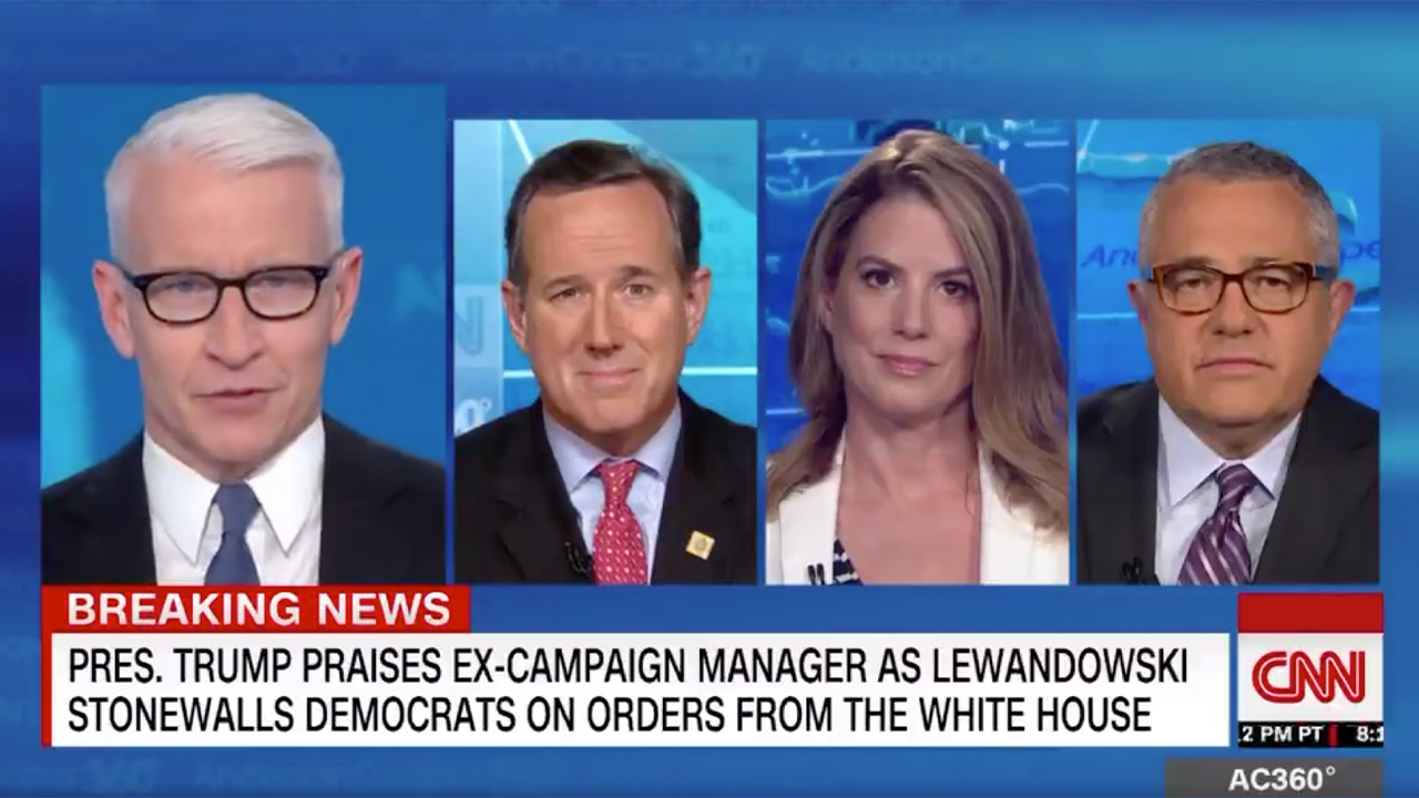 Anderson Cooper Knocks Lewandowski for Playing to an Audience of One at Hearing: 'Still Wants to Please Daddy'