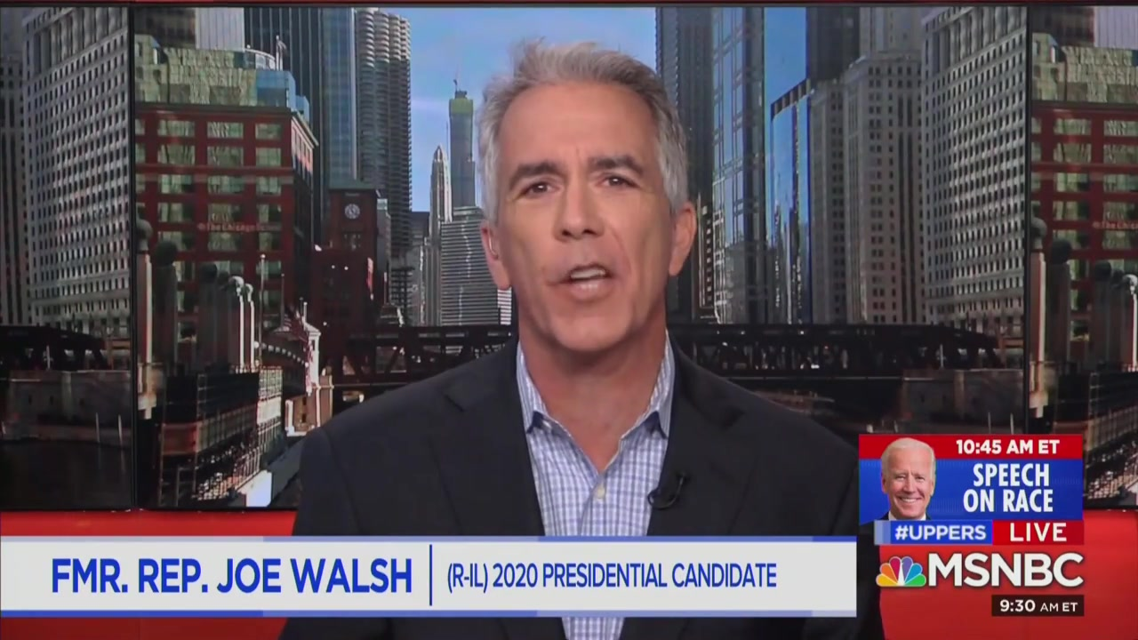 Joe Walsh Hopes for Potential Collaboration With George Conway: 'One of Our Greatest Patriots'