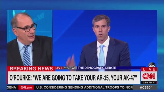 CNN's David Axelrod Praises Beto for 'Outstanding' Debate: 'Passionate, Commanding in a Way'