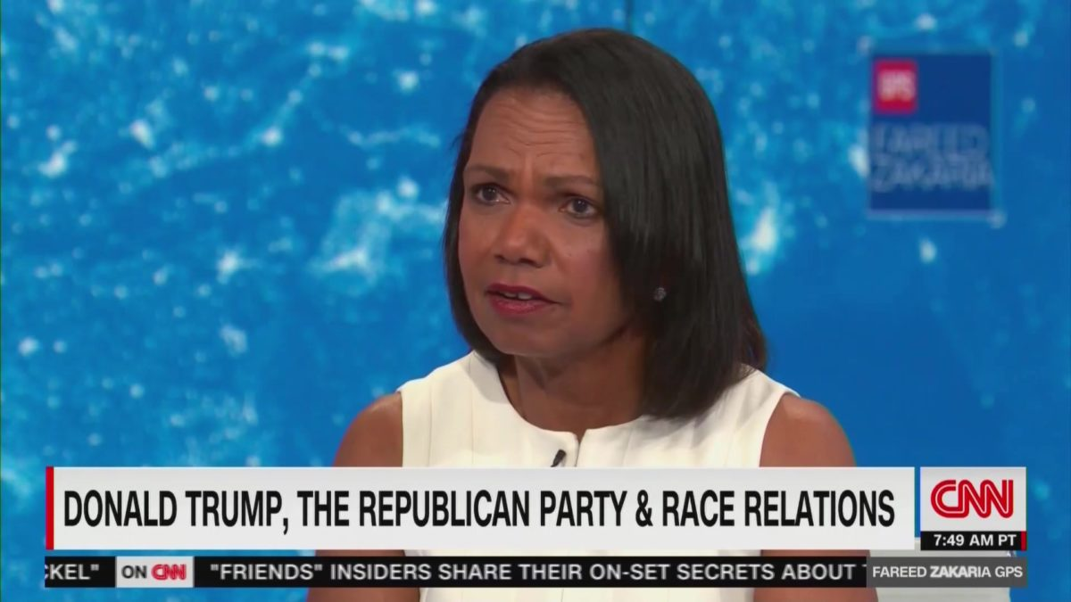 Condoleezza Rice Cautions Trump on Race Issues: 'The President Needs to Be A Lot More Careful'