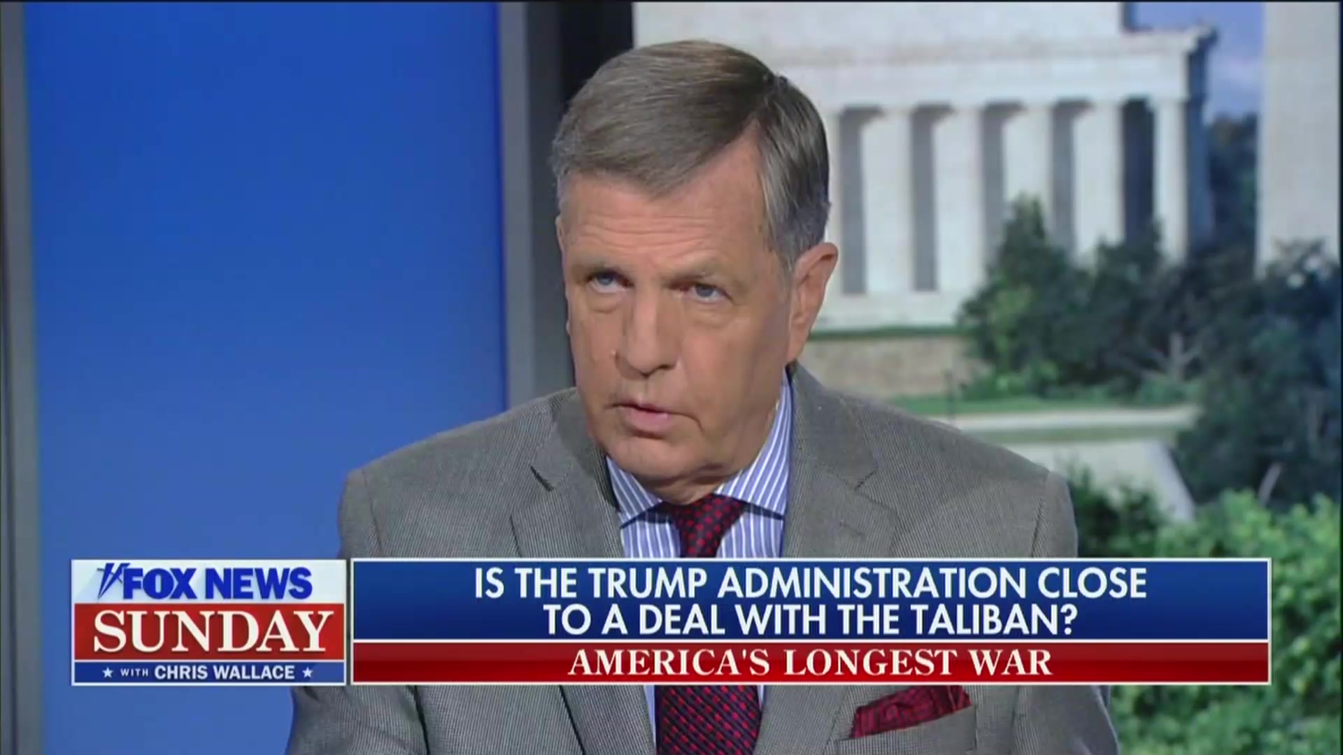 Fox's Brit Hume Blasts Trump Admin's Peace Talks with Taliban: 'This is Called Losing'