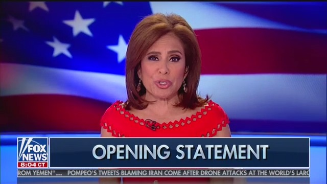 Fox's Jeanine Pirro Salivates at Andrew McCabe's Potential Indictment: 'The Rats Are Jumping Ship!'