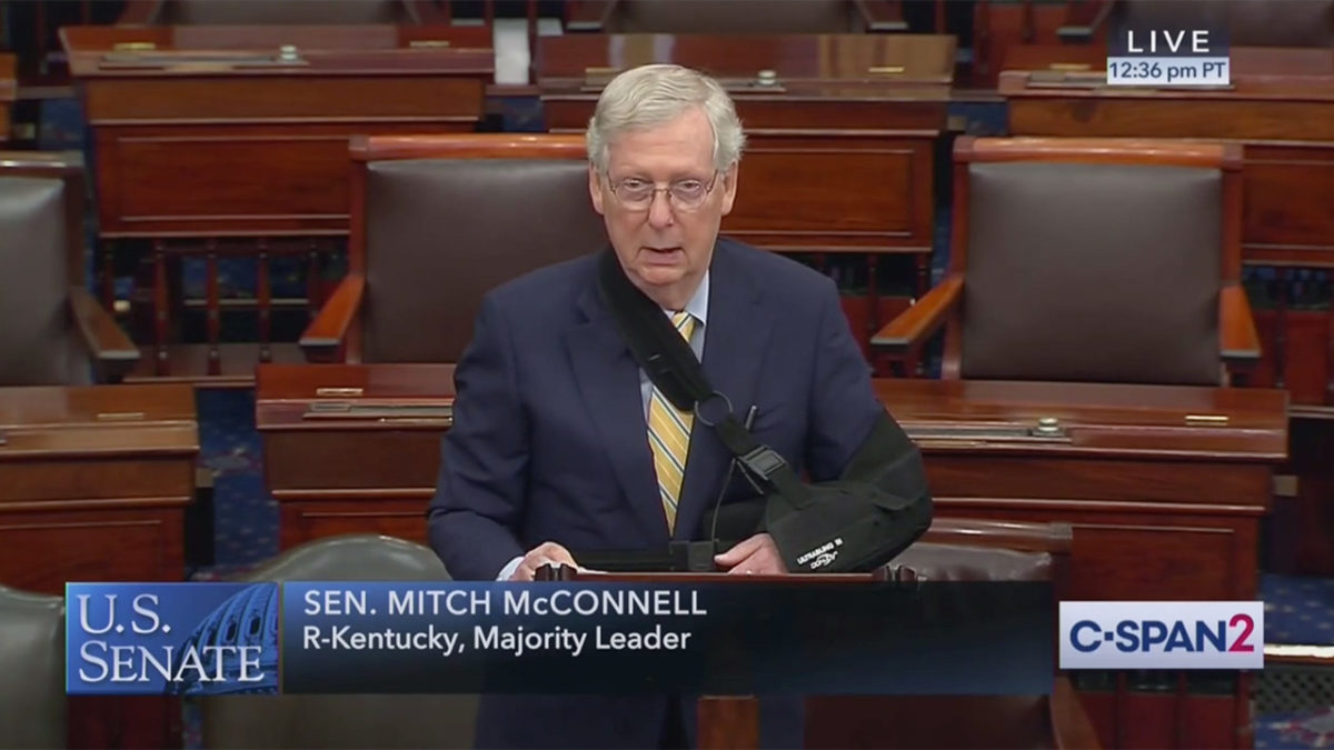 Mitch McConnell Goes Off on Dem Colleagues Over Kavanaugh: 'Unhinged Personal Attacks' Revealing Radicalism